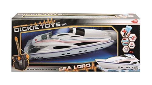 Dickie-Toys-201119548-RC-Sea-Lord-ferngesteuertertes-Boot-inklusive-Batterien-34-cm