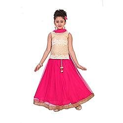 SAARAH Pink Lehenga Choli Set (EMP3215)