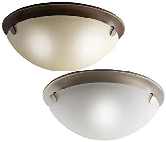 kichler 7003 small flush mount 13 inch diameter ceiling