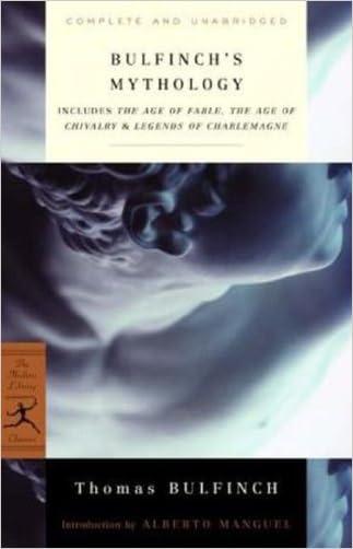 Bulfinch's Mythology (Modern Library)