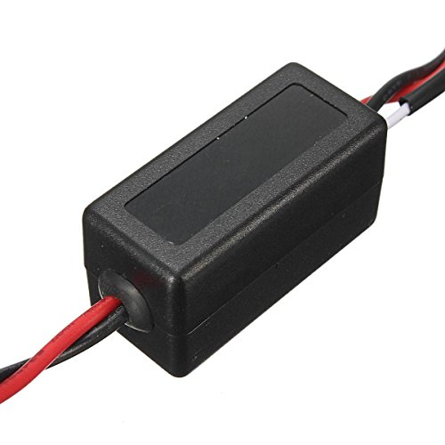 AUDEW Interruptor Controlador Rele Relay de Luz Diurna LED DRL ON-OFF Coche Universal