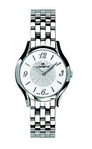 Lorenz 026532DD - Reloj de muñeca para mujer, color blanco