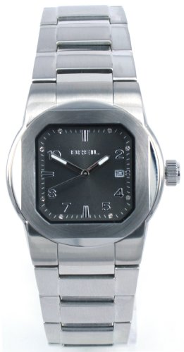 Breil Ladies Step Quartz Watch TW0592 with Black Analogue Dial, Stainless Steel Case and Bracelet, Date