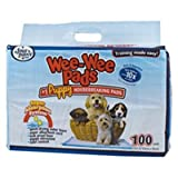 Four Paws Wee-Wee Puppy Housebreaking Pads, 100-Pack Bag