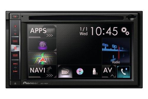 Pioneer AVIC-F960BT Navigatore 2 DIN, 6,1 Pollici, Tastiera Estraibile Antifurto, Nero/Antracite