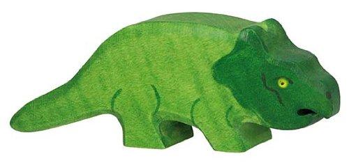Holztiger Protoceratops Wooden Figure