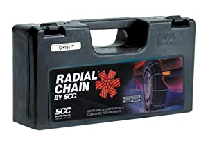 Security Chain Company SC1042 Radial Chain Cable Traction Tire Chain - Set of 2