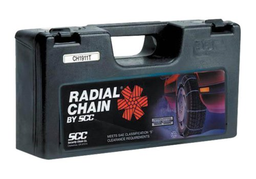 Security Chain Company SC1042 Radial Chain Cable Traction Tire Chain - Set of 2 (Jeep Grand Cherokee Snow Tires compare prices)