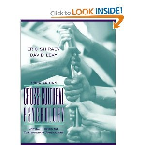 Cross Cultural Psychology 3rd (Third) Edition byShiraev