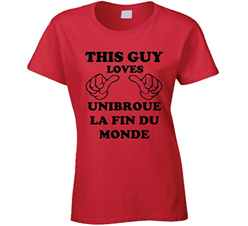 sunshine-t-shirts-unibroue-la-fin-du-monde-beer-funny-t-shirt-2xl-red