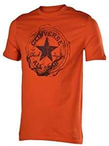 Converse Men's All Star Wrinkled Patch Graphic T-Shirt-Medium
