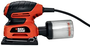 Black & Decker QS900 1/4-Sheet Sander with Filtered Dust Collection