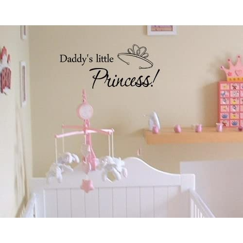 Amazon.com - Daddy's little princess!Vinyl wall art