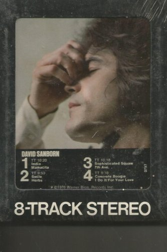 David Sanborn St Still Sealed 8 Track Tape
