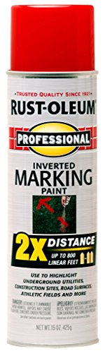 Rust-Oleum 266591 15 oz Professional 2X Marking Spray Paint, Safety Red (Glossy Spray Paint compare prices)