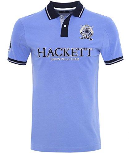 hackett-slim-fit-snow-team-polo-shirt-blau-xxl