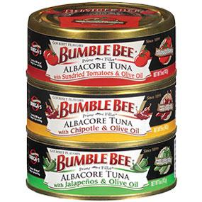 Bumble Bee Prime Fillet Gourmet Flavors Albacore Tuna