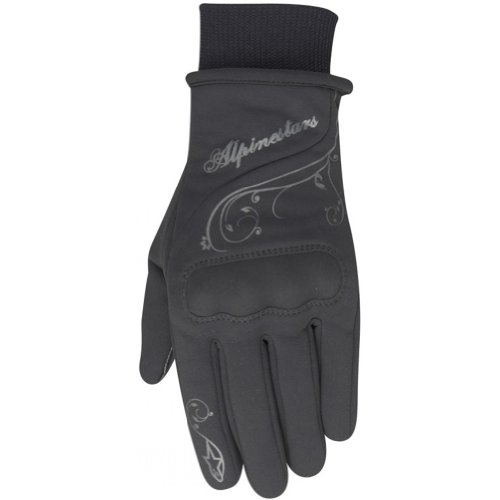 Alpinestars Stella C1 Windstopper Women's Waterproof Street Motorcycle Gloves - Black / Large