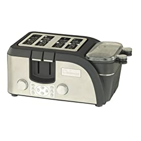 Chefscape TEMPR 4-Slice Egg and Muffin Toaster