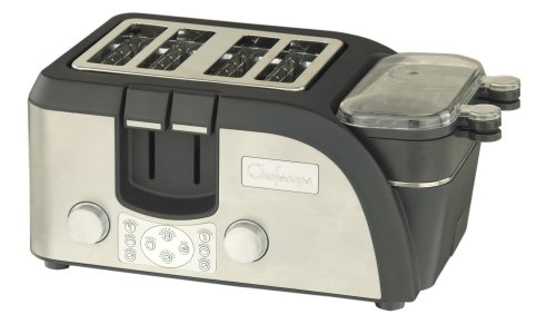 Toaster With Egg Cooker