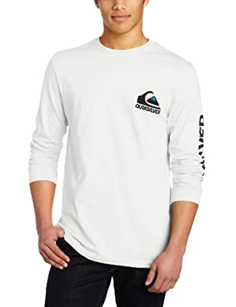 Quiksilver Men's Sweeper Long Sleeve Jersey Shirt, White, XX-Large