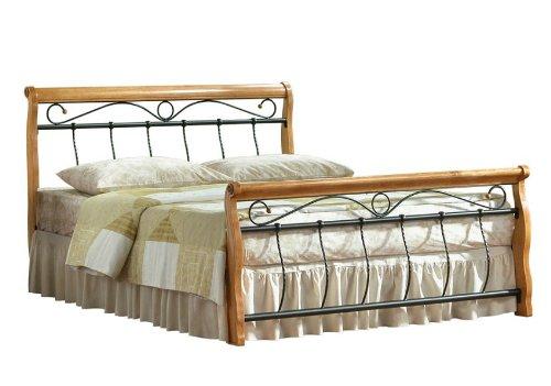 Bett Venecja Olcha Metallbett Doppelbett 160 x 200cm inkl. Lattenrost
