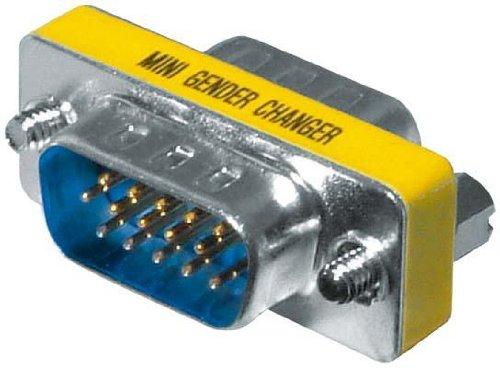 Intos Mini Gender-Changer Adapter HD15/Stecker - HD15/Stecker