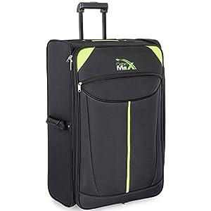 Cabin Max Global - Large bagage à roulettes léger et pliant - 107L