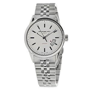 Raymond Weil Men's 2730-ST-65001 Freelancer Round Case Automatic Movement Watch