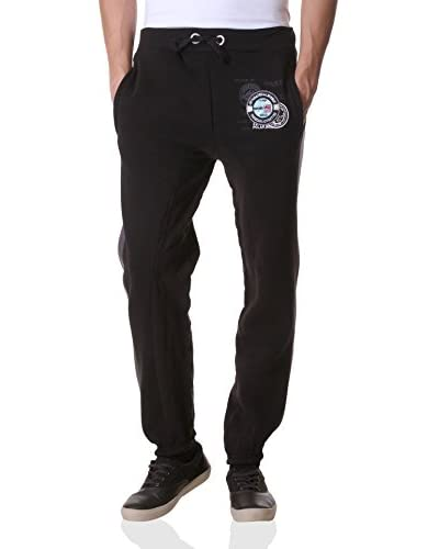 Geographical Norway Sweatpants Moustache schwarz