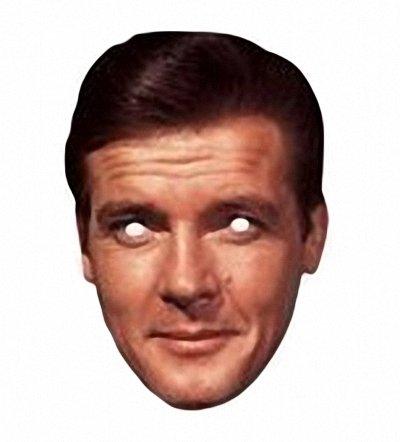 Celebrity Masks Roger Moore Mask - 1