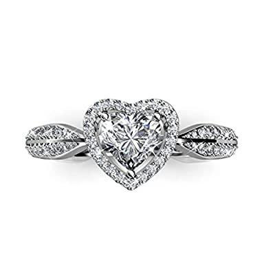 Mother's Day Rings 2016 with Swarovski Element Luxury Crystal Lady Proposal