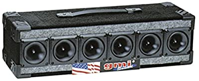 Super Titanium Tweeter - Peak Power Handling, Ferro Fluid Enhanced, Hardware Included, Fits All Woofer Enclosures - Replacement Subwoofer Part - By GMI Pro from GMI Pro