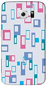 Timpax protective Armor Hard Bumper Back Case Cover. Multicolor printed on 3 Dimensional case with latest & finest graphic design art. Compatible with only Samsung Galaxy S6-Edge. Design No :TDZ-21460