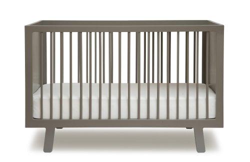 Oeuf Sparrow Crib, Grey