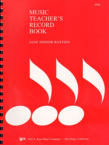 Music Teacher's Record Book