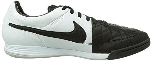 Nike Tiempo Legacy IC, Herren Futsalschuhe, Schwarz (Black/White-White 010), 41 EU (7 Herren UK) -