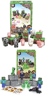Minecraft Papercraft Bundle Of Animal And Hostile Mobs Set by toynk