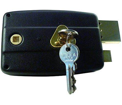 Welka 1585220 Serrature da Applicare 031, Porte Legno