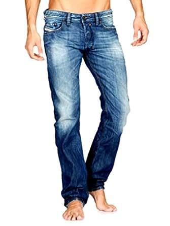 Mens Diesel BRADDOM 0885R Classic Straight Leg Jeans - Size W38 x L32