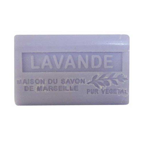 (南仏産マルセイユソープ)SAVON de Marseille ラベンダーの香り(SP020)(125g)