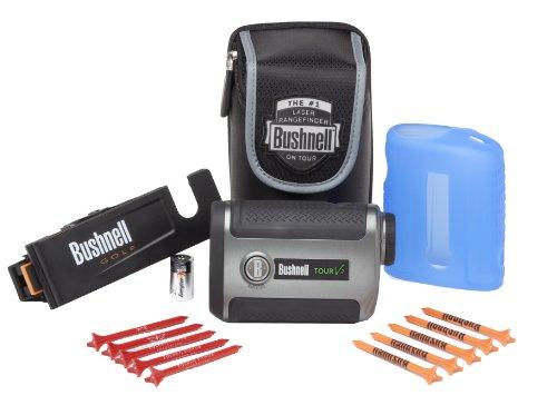 Bushnell Tour V2 Slope Edition Golf Laser Rangefinder, Patriot Pack 2012