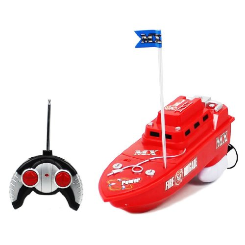 MX Championship Fire Brigade Rescue Electric RTR RC Boat Full Function Good Quality Remote Control Boat with Mini Tool Box (fs)