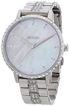 Nixon A099-1710 Ladies The Kensington Crystals Steel Watch