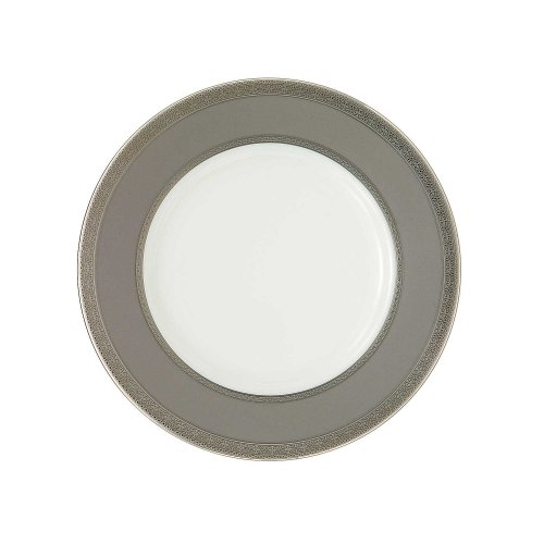 Waterford China New Grange Platinum 9-inch Accent Plate (Platinum Charger Plates compare prices)