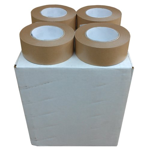 "Ecobox Kraft Flatback Paper Tape - 2"" X 60 Yds (Case Of 24)"