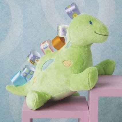 Taggies Soft Toy Baby Dinosaur