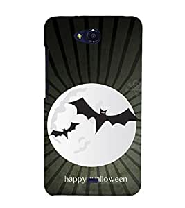 EPICCASE happy walloween Mobile Back Case Cover For Micromax Canvas Play Q355 (Designer Case)