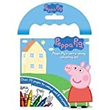Peppa Pig Carry-along Colouring Set