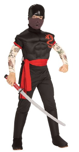 Ninja Warrior Deluxe Kids Costume
